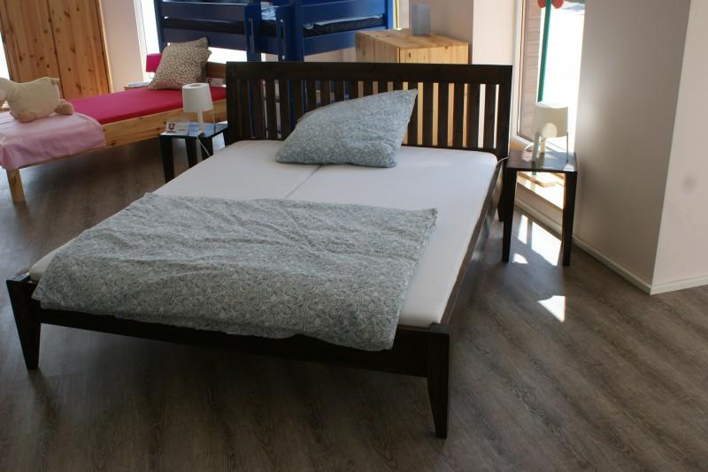 Etagenbett Kiefer Weiß Stockholm 4 Dahlhaus : Doppelbett helsinki kiefer nussbaum u dahlhaus